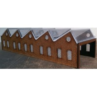 KIT01-04-01: N Scale North Light 5 Side Engine Shed