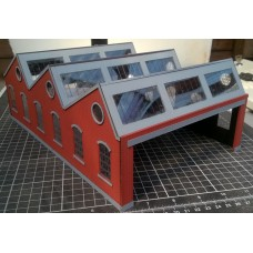 KIT01-03-02: OO Scale North Light Engine Shed
