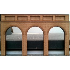 KIT02-03-02: OO Scale Open Support/Retaining Wall