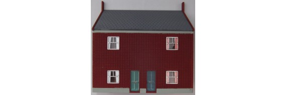 OO Gauge Low Relief Cottage