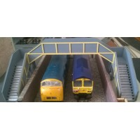 KS22-01-02: OO Scale Concrete Footbridge