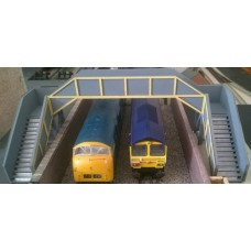 KS22-01-02: OO Scale Concrete Footbridge