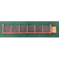 KS27-03-02: OO Scale Screen Block and Brick Garden Wall scale 6ft high, 32ft long