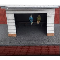 KS29-06-02: OO Scale Station Platform Shelter or Bus Shelter