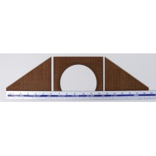 KS41-02-02: OO Scale Double Tunnel Mouth Brick