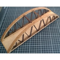 KS44-07-02: OO Scale Bow String Girder Bridge