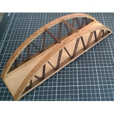 KS44-07-02: OO Scale Bow String Girder Bridge