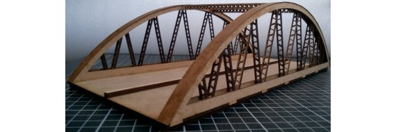 Bow String Girder Bridge