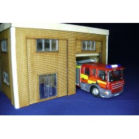 KS70-02-02: OO Scale Small Fire Station