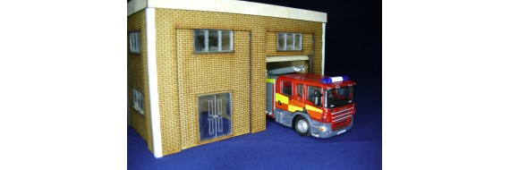 OO Gauge Fire Station