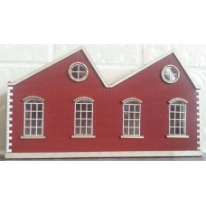 KIT06-01-02R OO Scale Single Height North Light Low Relief - Right