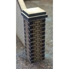 KS28-02-03: O Scale Flemish Brick Pier 5ft scale high