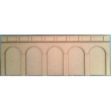 KIT02-04-03: O Scale 5 arch Support/Retaining Wall