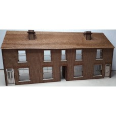 KS01-02-03: O Gauge Low Relief Terraced Houses