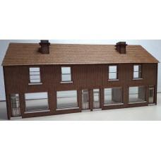 KS01-04-03: O Gauge Low Relief Terraced Shops