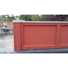 KS28-01-03: O Scale Flemish Brick Pier 8ft scale high