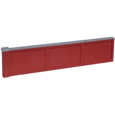 KS27-01-03: O Scale Flemish Brick Wall 8ft scale high