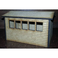 KS29-01-03 O Gauge Shed with Windows scale 12ft x 8ft