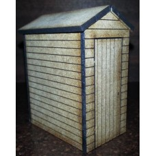 KS29-02-03: O Scale Shed with Windows 6ft x 4ft