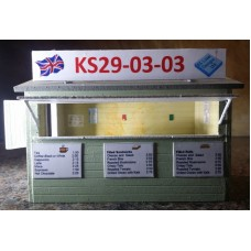 KS29-03-03 O Scale Wooden Cafe
