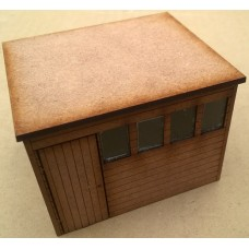 KS29-05-03 O Gauge Pent Roof Shed scale 10ft x 8ft