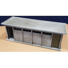 KS29-12-03 O Gauge Concrete Toilet Block