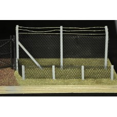 KS32-01-03: O Scale 8' Bent Arm Fence