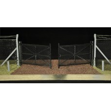 KS33-01-03: O Scale Double Gates