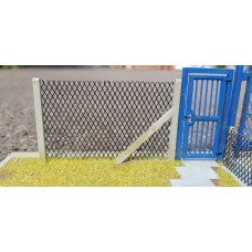 KS34-02-03: 6ft chain link fencing