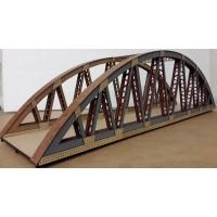 KS44-07-03: O Scale Bow String Girder Bridge