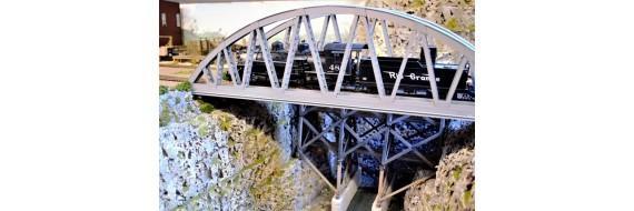 Bow String Girder Bridge