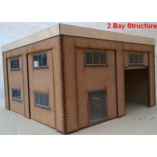 KS70-02-03: O Scale Small Fire Station