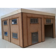 KS70-02-03: O Scale Small Fire Station