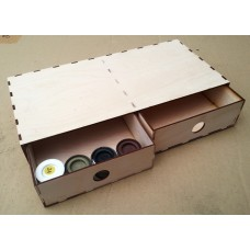 KS901-03: Double Drawer Storage Box