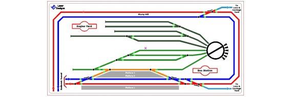 Control Mimic Panel